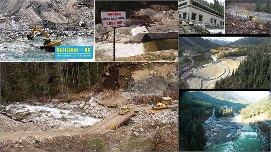 ruin of river